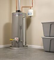 Hot water heaters   Purchase. install