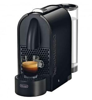 Delonghi Nespresso U Pure Solo Machine - Black Naremburn Willoughby Area Preview