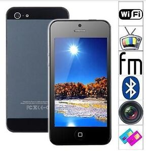 "4"" Resistive Screen 4-Band Dual-Sim Unlocked Mobile Phone with W"