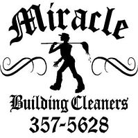 Moving ? Posted? Call MIRACLE  CLEANERS 357-5628