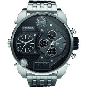 Diesel-DZ7221-Mens-SBA-Dual-Steel-Black-Watch