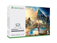 Brand new sealed Xbox one s assassins creed bundle