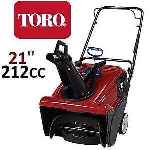 """NEW* TORO GAS 721R SNOW BLOWER 21"""" 38741 214093830 POWER CLEAR SINGLE STAGE BLOWER WITH 21"""" CLEARING WIDTH SNOW THROW..."""