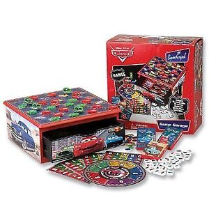 Disney Pixar CARS Game Garage Supercharged with 7 games
