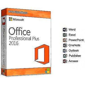 Microsoft Office 2016 Professional 32/64 Bit - Original Software