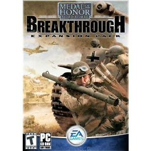 PC - MEDAL OF HONOR ALLIED ASSAULT – BREAKTHROUGH EXPANSION PACK