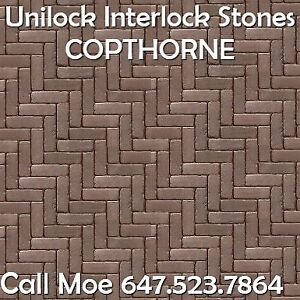 Copthorne Unilock Brick Pavers Burnt Clay Brick Pavers Bolton