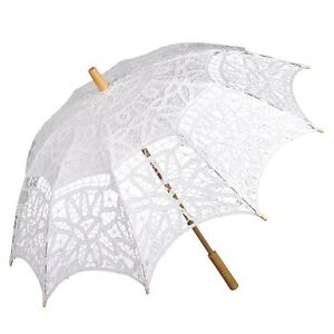 Large Lace Parasols Ideal for Wedding and Photo-shoots