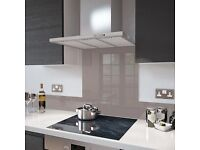 Glass Splashback - Cappuccino colour 70 x 75cm