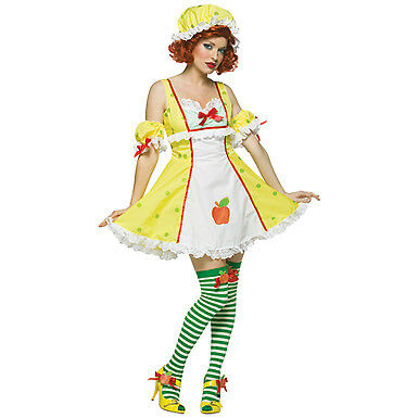 Apple Dumpling Womens Strawberry Shortcake Costume (Halloween Dumpling Costume)