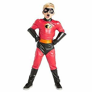 NEW! Disney Dash Costume for Kids - Incredibles 2 Red size 7/8