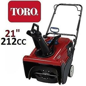 "NEW* TORO GAS 721R SNOW BLOWER 21"" 38741 220140969 POWER CLEAR SINGLE STAGE SNOWBLOWER"