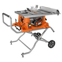 Rigid portable table saw with stand
