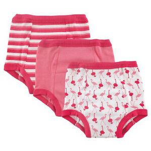 New!!! 3-Pack Pink Flamingo Water Resistant Training Pants