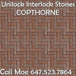 Copthorne Unilock Brick Pavers Mixed Colours Brick Pavers Vaugha