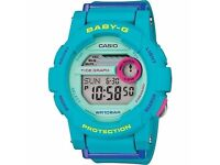 Baby G Blue Watch