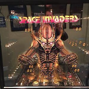 Paragon or Space invaders Pinball Machine