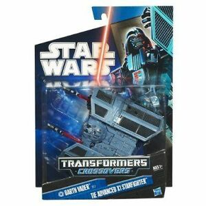 BRAND NEW - STAR WARS TRANSFORMERS CROSSOVERS DARTH VADER