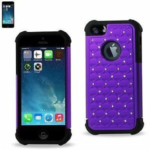 Samsung and iPhone 2 Pc Rhinestone Jewel Cases