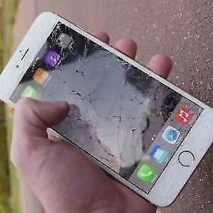 iPhone Battery & Screen Cracked Repair Starts ........... $45