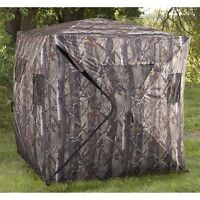 True timber hunting blind