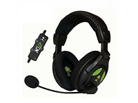 xbox 360 Turtle Beach Ear Force XL1 Wired Headset