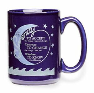 "Blue ""Serenity Prayer"" Mug Stratford Kitchener Area image 2"