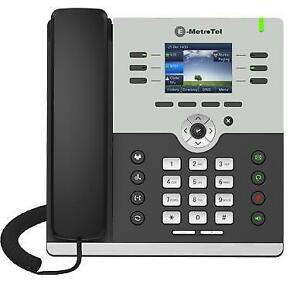 New EMetrotel Infinity IP phones Model IP5006 & IP5010 for any SIP IP-PBX phone system