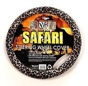 Cheetah Steering Wheel Cover