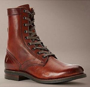 FRYE - ENGINEER TALL LACE Redwood Men's Boots