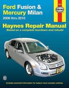 ford fusion manual ebay
