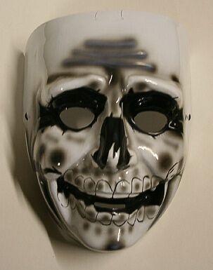 Skeletor Fancy Faces Adult Plastic Face - Skeletor Mask