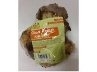 4 GIANT ROAST KNUCKLE BONES FOR DOGS