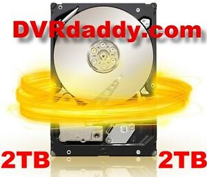 New TiVo HD Series 3 TCD652160 2TB Replacement Hard Drive +2700 Hours Free FedEx