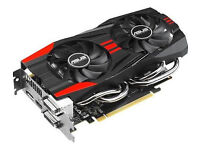 Used Mid/High-Range Graphics Card: GTX 760 2GB. Comes factory overclocked (ASUS), excellent cooling
