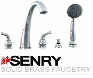 NEW SENRY Wide Spread Roman Tub Faucet
