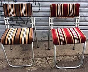 Vintage Dining Chairs Warren MacArthur Retro Seats Cafe Bar Pub Tempe Marrickville Area Preview