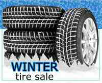 NEW TIRE SALE, see greenleaftire.ca for winter tire pricing