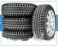 NEW TIRE SALE,     see website for winter tire pricing