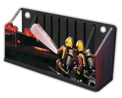 Firefighter Firemen Fire Desk Fridge Magnetic Organizer Charging Station USA - Desk Fridge