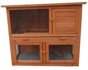 The Block -New chicken coop guinea pig cage hutch Fully Assembled North Lakes Pine Rivers Area Preview