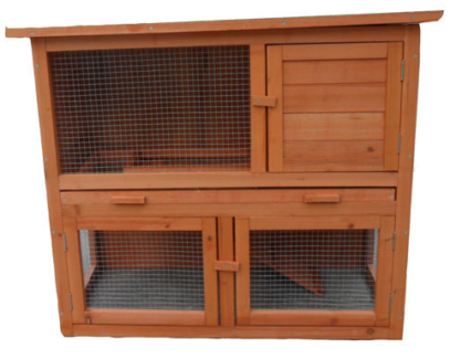 The Block -New chicken coop guinea pig cage hutch Fully Assembled