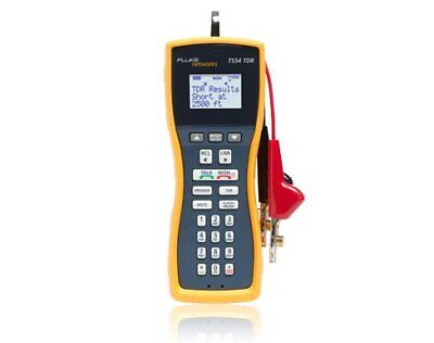 Fluke Networks Ts54-a-09-tdr Test Set With Abn Cords And Piercing Pin