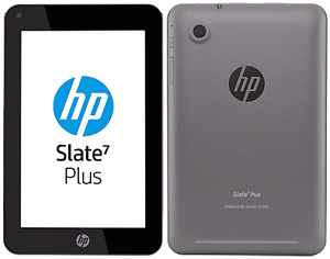 "HP Slate 7 Plus 7""Display, Dual Camera, 8GB, Quad Core Android"