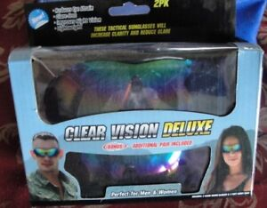 NEW clear vision sunglasses