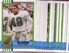 Topps Philadelphia Eagles Football Trading Cards Set