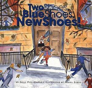 NEW Two Shoes, Blue Shoes, New Shoes by Sally Fitz-Gibbon