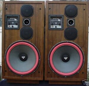 Cerwin Vega with 15 inch woofers wanted.