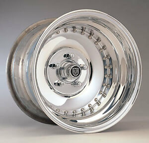 MAGS CENTER LINE POLIE 15X8.5 FORD CHRYSLER 3.5 BACK SPACING