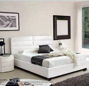 【Special Offer】LEATHER-LOOK Bed Frame Queen Size Nunawading Whitehorse Area Preview